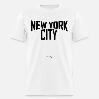 John Lennon Men/'s  NYC B/&W Slim Fit T-shirt Black
