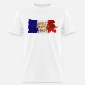 France France Championne Du Monde 2018 Unisex Tri Blend T Shirt Heather Gray