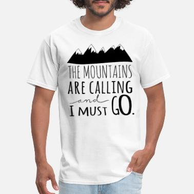 Love Virginia Mountains Are Calling Mountains Apparel Hiking Tee - Men's T-Shirt