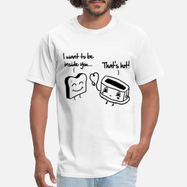 Valentine's Day Toast & Toasty - Men's T-Shirt