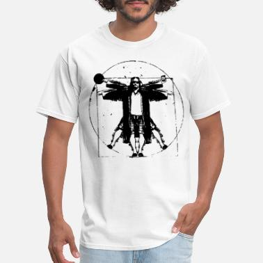 Lebowski THE BIG LEBOWSKI VITRUVIAN THE DUDE RETRO VINTAGE - Men's T-Shirt