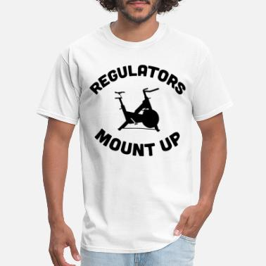 Meme Cycling REGULATORS MOUNT UP SPIN CYCLE FLOWY SCOOP - Men's T-Shirt