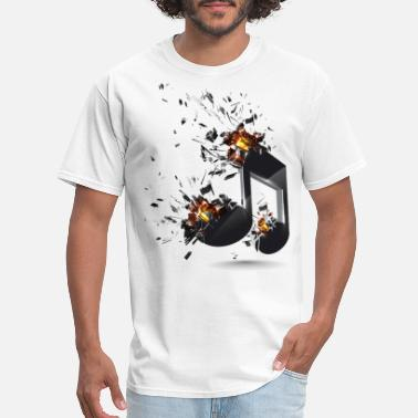 Music Note musical note - Men's T-Shirt