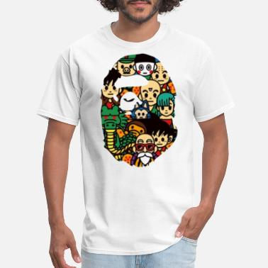 Dragonball Bape x Dragonball Z Limited Edition - Men's T-Shirt