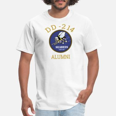 c09dd2a4 Veteran Dd-214 Navy Seabees Shirt DD 214 Alumni T Shirt - Men&#39