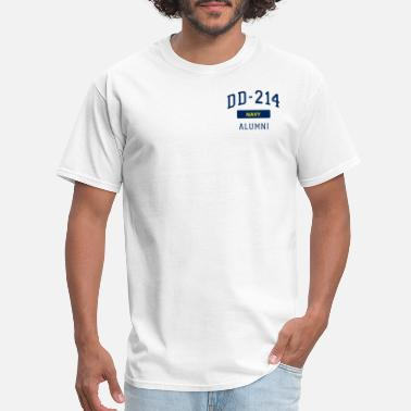 Seaman Military DD214 U.S. Navy Alumni T Shirt Veteran Pocket - Men's T-Shirt