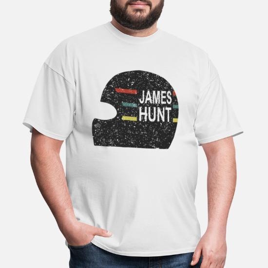 fb76db58c0d James Hunt Helmet Tee by Hunziker hunt Men's T-Shirt | Spreadshirt