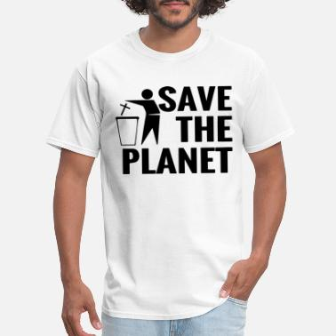 Atheism Save The Planet Atheist Funny Atheism Tee gift for - Men's T-Shirt