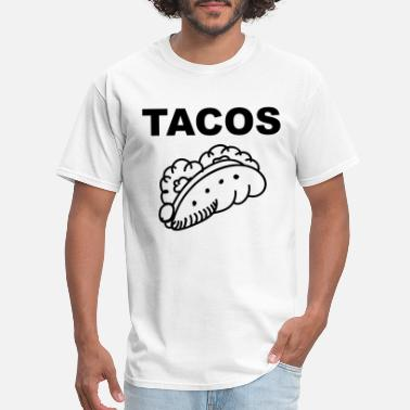 Taco Love The Perfect Taco, Tacos for Love - Men's T-Shirt