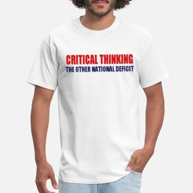 52b90bcbb Thinking Critical Thinking - Men's T-Shirt