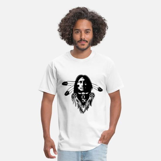 First T-Shirts - Canadian first Nation - Men's T-Shirt white
