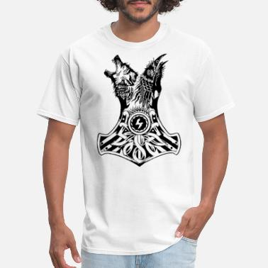 Viking Sportswear viking wolf - Men's T-Shirt