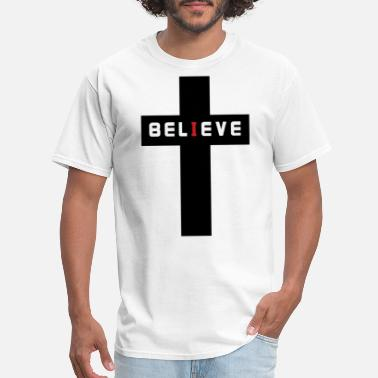 Bible Verse Couples Believer Christian Religious Jesus Christ Faith - Men's T-Shirt