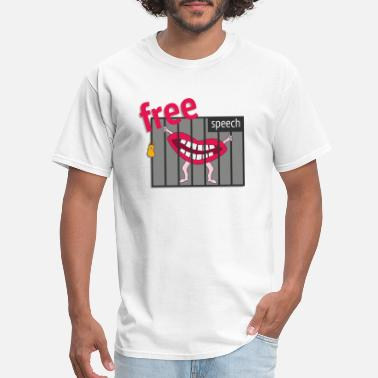 Free-speech Free Speech! - Men's T-Shirt