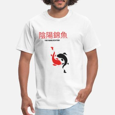 Ying YING YANG KOI FISH - Men's T-Shirt