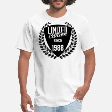 Vintage 1988 Limited Edition Limited Edition Since 1988 - Men's T-Shirt