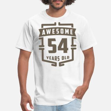 54 Years Old Awesome 54 Years Old - Men's T-Shirt