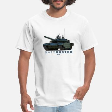 No To Nato NATO Buster - Men's T-Shirt