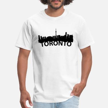 Skyline Arc Skyline Of Toronto Ontario Canada - Men's T-Shirt