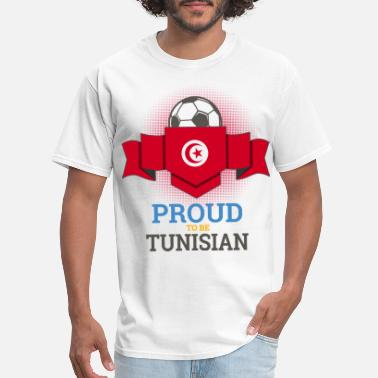 Soccer Fan Football Tunisia Tunisians Soccer Team Sports - Men's T-Shirt