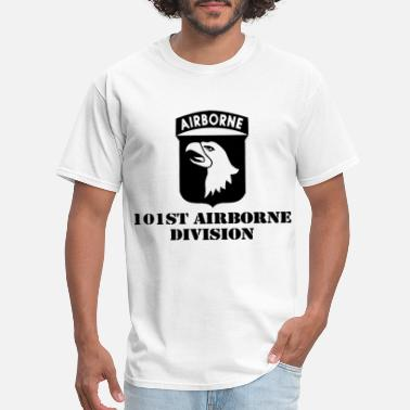 Screaming Eagle US Army Airborne Division Screaming Eagles Veteran - Men's T-Shirt