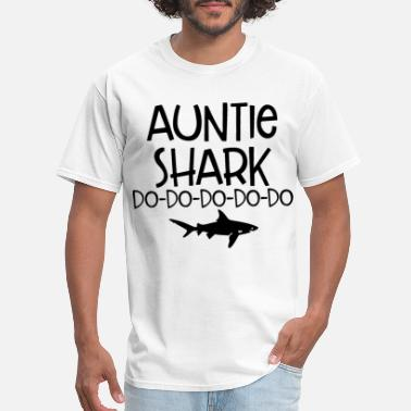 Supreme Shark auntie shark do shark - Men's T-Shirt