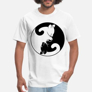 Golf-wang-cat Yin Yang Cats Choice of size colours Cat - Men's T-Shirt