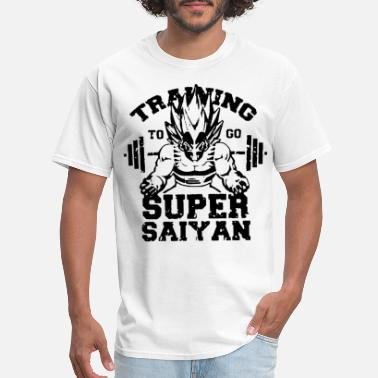 Dragon Mens Japanese Anime Dragon Ball Vegeta Print Super - Men's T-Shirt