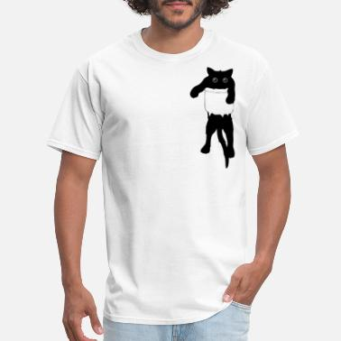 Pocket Cat in the pocket - Men's T-Shirt