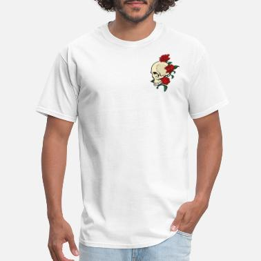 Skull Rose Skull and rose - Men's T-Shirt