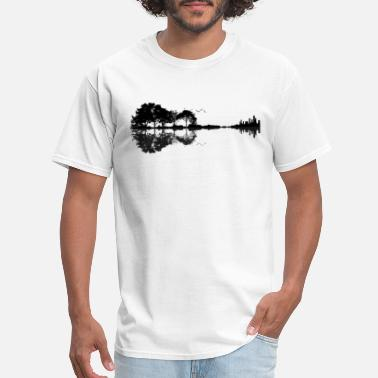 Guitar Nature Guitar - Men's T-Shirt