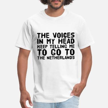 Voices In My Head the voices in my head brother t shirts - Men's T-Shirt