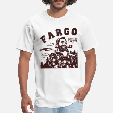 Paul Bunyan Fargo North Dakota Lumberjack Paul Bunyan Woodwork - Men's T-Shirt