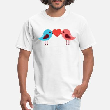 Mashup Anime Birds - Men's T-Shirt