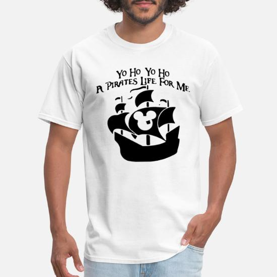 d5de27359 Yo ho pirates life disney vacation family family d Men's T-Shirt ...