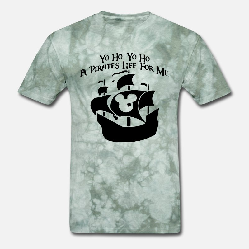 085f99cd8 Yo ho pirates life disney vacation family family d Men's T-Shirt |  Spreadshirt