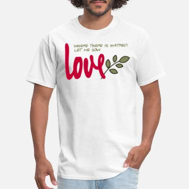 Let me sow love - Men's T-Shirt