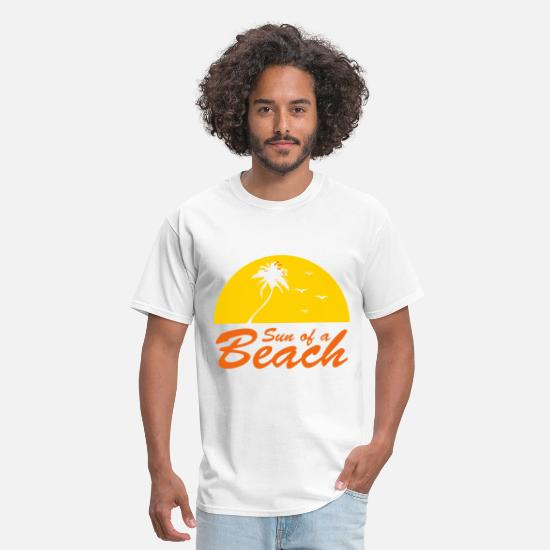 Son T-Shirts - sun of a beach - Men's T-Shirt white