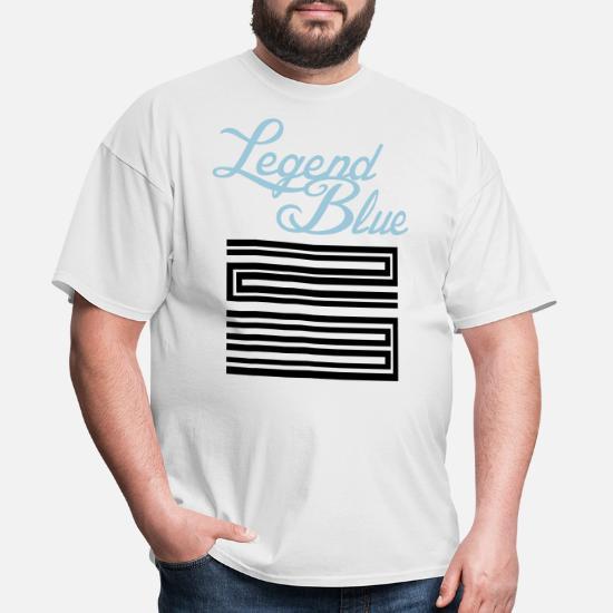 3491536b3fb Front. Back. Back. Design. Front. Front. Back. Design. Front. Front. Back.  Back. Jordan T-Shirts - Retro 11 Legend Blue Jordan Shirt - Men's ...