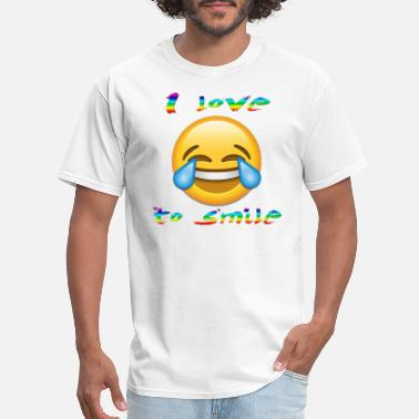 Smile-more smile more - Men's T-Shirt