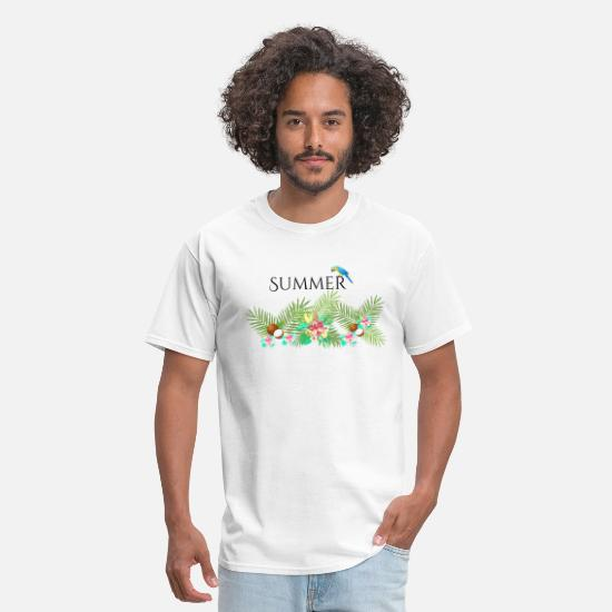 "Summercontest T-Shirts - ""summercontest"" - Men's T-Shirt white"