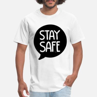 Uv Stay Safe Design - Men's T-Shirt
