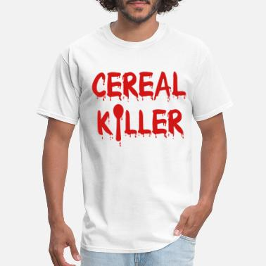 Cereal Cereal Killer - Men's T-Shirt