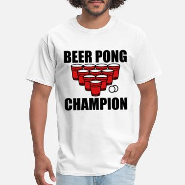 Beer Pong Beer Pong Champion - Men's T-Shirt