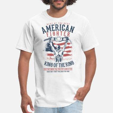 America Fighter American Fighter - Men's T-Shirt
