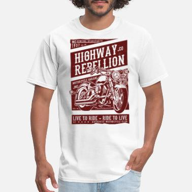 Motorcycle Classic Motorcycle - Men's T-Shirt