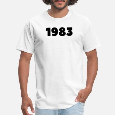 1983 Year Of Birth 1983 Birth Year 1983 Sign Vintage 1983 Limited - Men's T-Shirt
