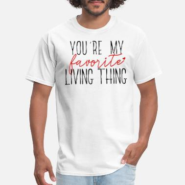 Love All Living Things Favorite Living Thing - Men's T-Shirt