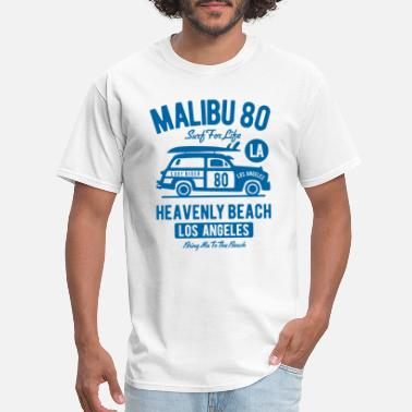 Malibu Sun Malibu Beach - Men's T-Shirt