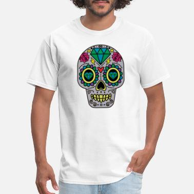 Hardcore Rock N Roll ROCK N ROLL SKULL T-SHIRT - Men's T-Shirt